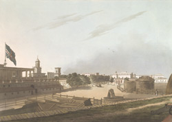 A View From The King's Barracks, Fort St. George